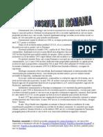 Scurt Istoric Al Comunismului in Romania