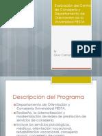 Evaluación de Programa Proyecto Final