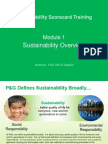 Sustainability Scorecard Training_Module 1
