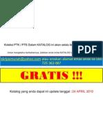Katalog PTK & PTS