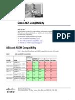Cisco ASA Compatibility