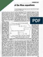 Renzo L. Ricca- Rediscovery of Da Rios equations