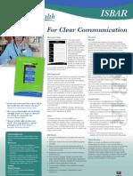 Isbar Clear Communication