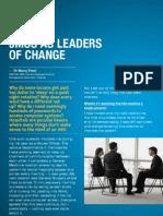 Junior Doctors as Leaders of Change