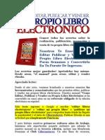 Libros Electrónicos - Ebooks - Como publicar y vender tu propio libro electrónico