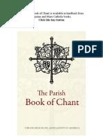 The Parish Book of Chant