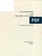 Annemarie Schimmel - Calligraphy and Islamic Culture