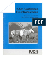 IUCN Reintroduction Guidelines