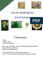 Uso de Fitoterapicos Em Cancer