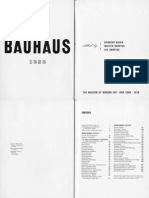 Bauhaus 1919-1928 MoMA 1938