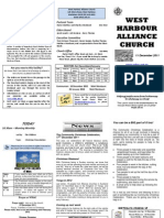 Church Newsletter-11 December 2011