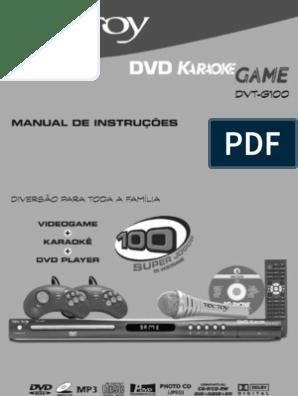 KARAOKE COM PARA DVD PONTUAO BAIXAR
