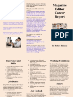 Career Report Brochure