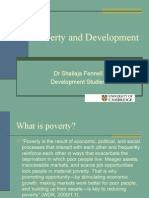 Session 1.4 Facts and Perspectives on Poverty and Underdevel