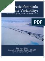 Antarctic Peninsula Climate Variability
