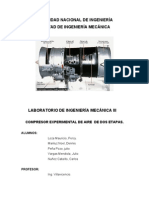 Compresor de Dos Etapas - Informe
