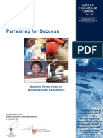 WEF _ Partnering for Success
