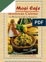 Mosi Cafe Menu