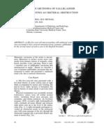 Adenocarcinoma of gallbladder presenting as ureteral obstruction