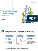 Presentation - Building Private Clouds With NetApp Shared Storage