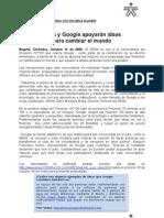 Google y SENA Convocan Proyecto 10-100