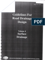 REAM Guidelines for Road Drainage Design - Volume 4 | Stormwater