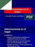 Expo Intoxicaciones en El Hogar