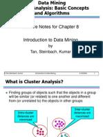 Chap8 Basic Cluster Analysis