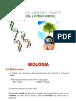 BIOLOGÍA Y BOTÁNICA FORESTAL 1