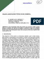 K. Bajer and H.K. Moffatt- Chaos Associated with Fluid Inertia