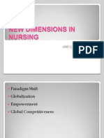 New Dimensions in Nursing