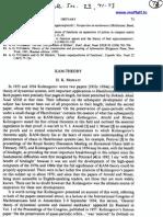 H.K. Moffatt- KAM-Theory