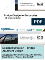 Bridge Design to Eurocodes