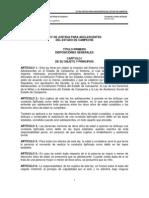 Ley de Justicia Para Adolescentes Del Estado de Campeche