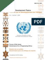 Gouvernance Pour Une Afrique en Marche