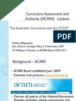 AustralianCurriculumNTCET