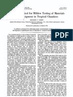 Viability Control for Mildew Testing