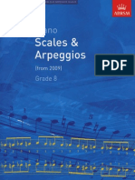 ABRSM Grade 8 Piano Scales and Arpeggios