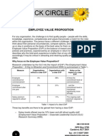 Black Circle - Employee Value Proposition - A Briefing