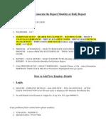 Bio-Metric Attendence Software Process