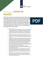 Safety Footwear in Austria