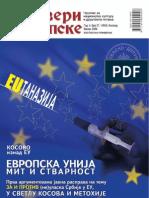 Dveri Srpske - Temat Kosovo i Evropska Unija