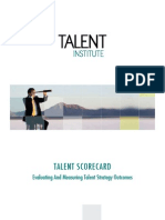 Brochure Talent Scorecard