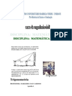 Apostila Trigonometria
