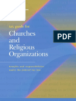 tax guide for churches