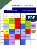 Primera Evaluación Diciembre 2011-12