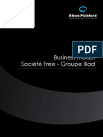 Etude Business Model Free - Groupe Iliad