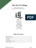 Tao Te Ching, T. McCarroll