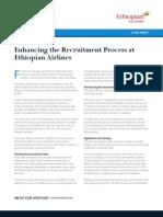 Ethiopian Airlines Case Study