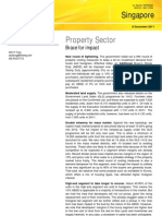 Property Sector Post-ABSD (08-12-2011)
